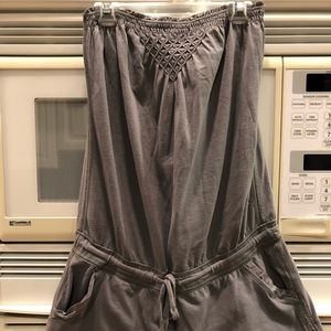 Abercrombie & Fitch Women's Gray Romper Size Large